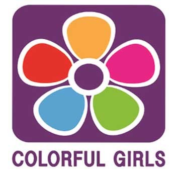 Colorfull girl